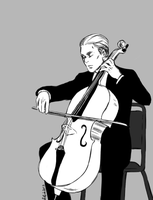 cello by UsagiNoYume