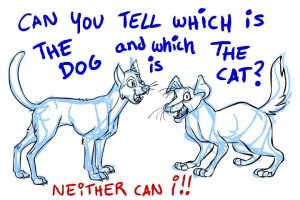 Cat or Dog by FablePaint