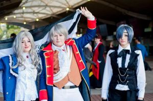 The Great Prussian Army... And Ciel - SMASH 2014 by Rhychu-Cosplay