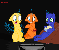 Surprised, Terrified, or entertaint MLP FIM Base by FreiaST