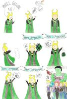 Loki the Party Planner by aniapaluch