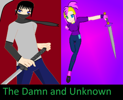 The Damn and Unknown Cover by CoretheWolf37