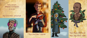 Daily Sithmas Drawings 1 by Teq-Uila