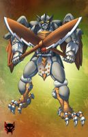 Beast Wars Silverbolt by Dan-the-artguy
