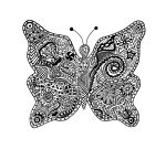 Abstract Butterfly by firenze