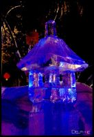 Chinese Ice Lantern by sculptin