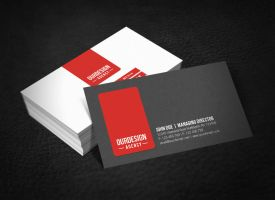 Clean Professional Business Card by glenngoh