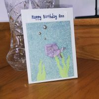 Happy Fishing Your Birthday Card by RinnG
