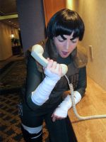 Rock Lee Vrs the Telemarketer by Foayasha