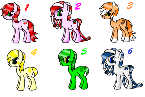.: MLP Adopts Batch 1 - CLOSED :. by twi--adoptables