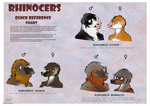 Rhinocers Chart by TheStrangeThing