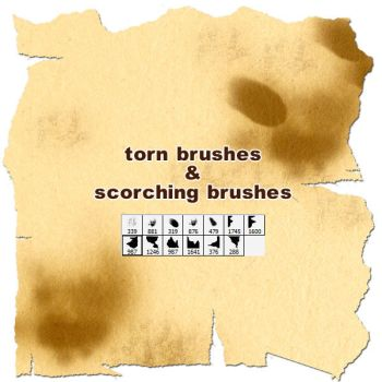 torn+scorching brushes by gimei