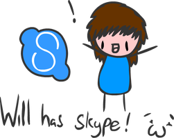 I now have Skype~ by SCP-079