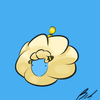 Mareep by TheOlympicTeaBagger