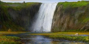 Iceland foss attempt 7 by andrekosslick
