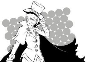 Mephisto Lineart by Melhung