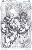 Hulk vs Thor #100 :) by LoadedAtama