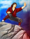 Liu Kang The Chosen One by Swaptrick