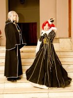 cosplay Esther and Abel 4 by NakagoinKuto