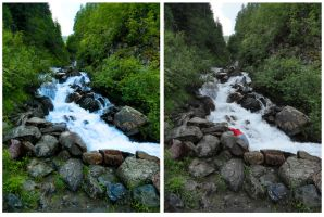 Mountain Stream - Comparison by tepithebest