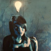 Bright idea - blue by boogaloo-design