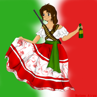 Mexico by MadamAiray
