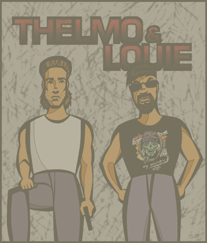 Thelmo and Louie by timelike01