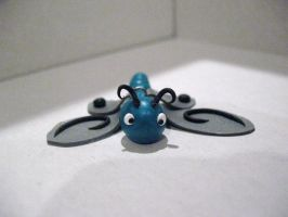Dragonfly Ornament - Front by drakeo1903