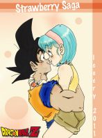 DBZ SS On the tip of my Tongue by Icecry