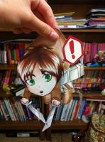 Eren Paperchild! by AgentJelly101