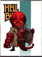 Lil Dude Hellboy COLORED by MARR-PHEOS