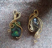 Pendants - set 6 by UEdkaFShopie
