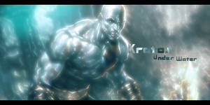 Kratos Under Water 'o' by Creativetasks