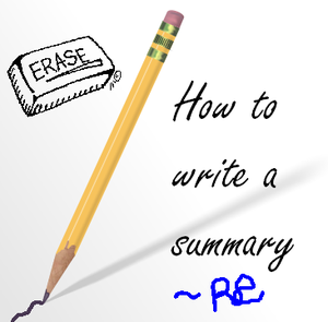 how to write a summary by ceata88 on deviantart