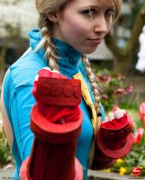 Cammy Cosplay Ikuy 13 by TheUnbeholden