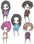 Comi: chibis 2 by LinaAline