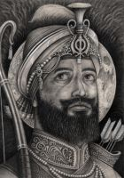 'GURU GOBIND SINGH' (gift for local temple) by Pen-Tacular-Artist