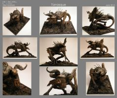 Tarrasque Miniature - Final by WilliamWeird