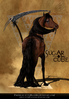 Sugar cube by blaxeira