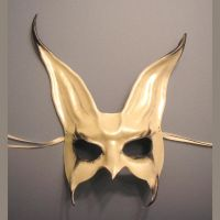 Rabbit Mask...Leather by teonova