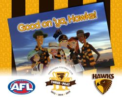 To the 2015 AFL Premiership Champions! by daanton