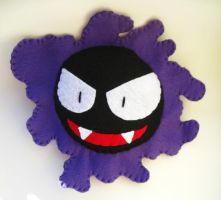 Gastly Pokemon Plush by P-isfor-Plushes