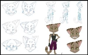 Jinx Model Sheet by AnimeMan90