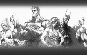 Justice League JLA by ErikVonLehmann