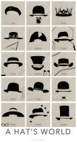 A Hats World Poster LowRes by panos134fx