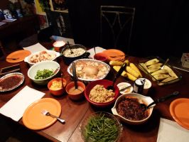 A Post-Thanksgiving Vegan Feast by Alluringraphy