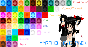 .::Martheh's Eye Pack::. by TwilightMarth