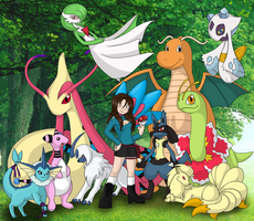 Pokemon Team by Pokemon-Chick-1