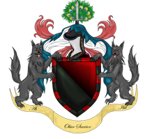 PP: Caine's Coat of Arms by RokxMcShadow