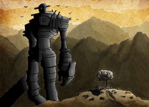 Shadow of the Colossus by MisterOctober